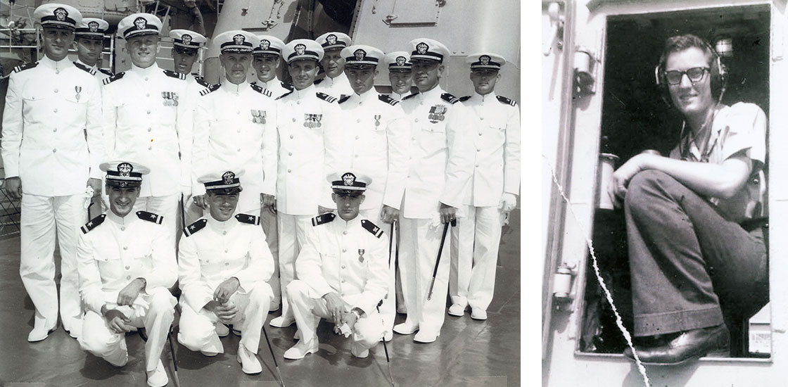 Cold-War-Officers-on-deck-and-radioman