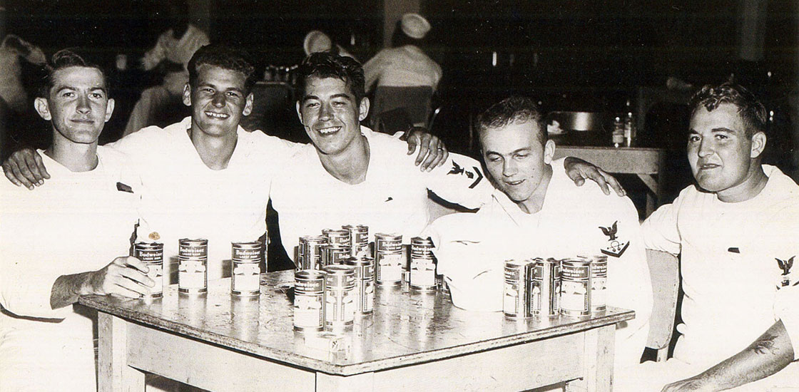 Korea-Crew-5-sailors-drinking-bud