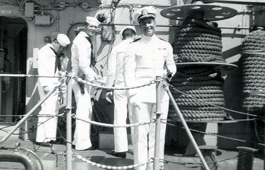 Korea-Crew-Onboard-officer-in-front