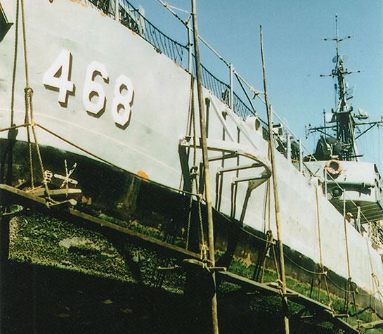 Korea-Ship-drydock