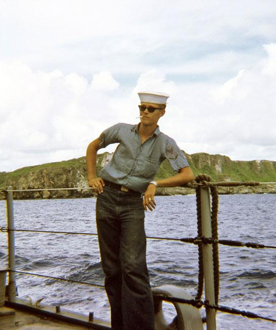 Vietnam-Crew-Onboard-sailor-smoking