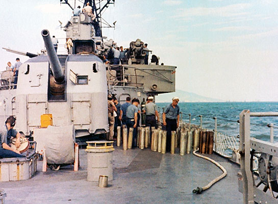Vietnam-Gunline-Brass-Gunline-DaNang-1966