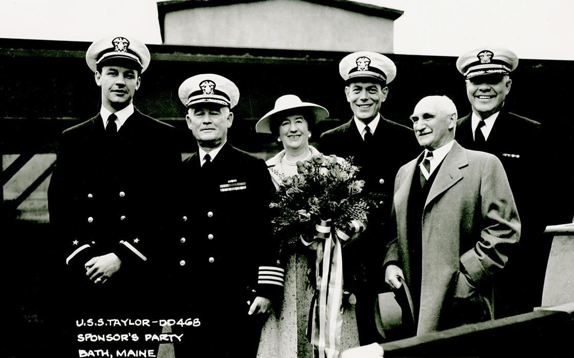 WW-II-Ship-History-Launch-Sponsor-Party