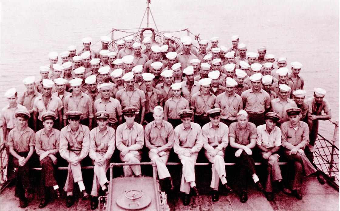 The-Ship-Crew-WW-II-Engineering-July-1944