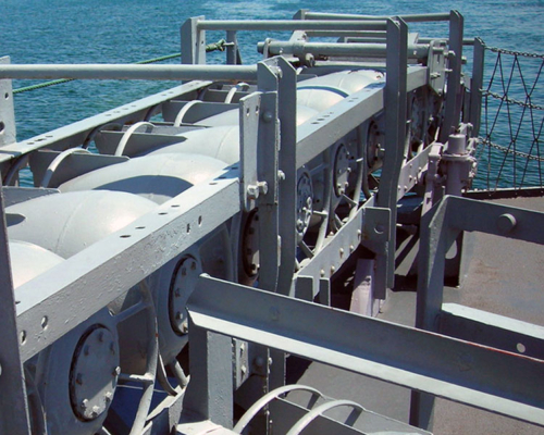 WW-II-ASW-Starboard-Depth-Charge-Rack